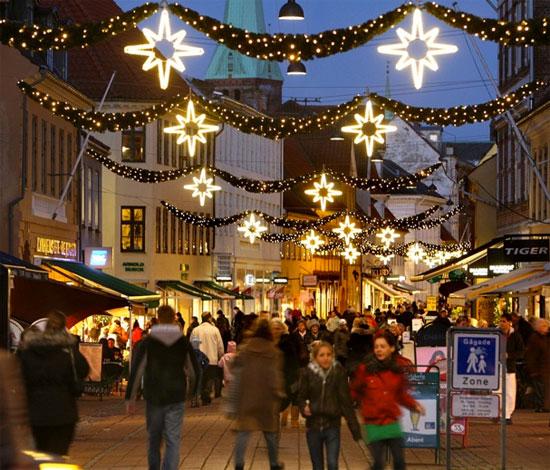 Julemarked Helsingør Simon Spies Plads Elsinore