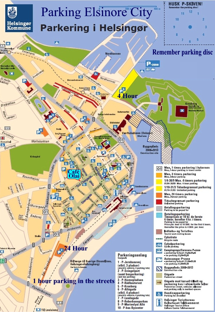Bykort Parkering I Helsingor City