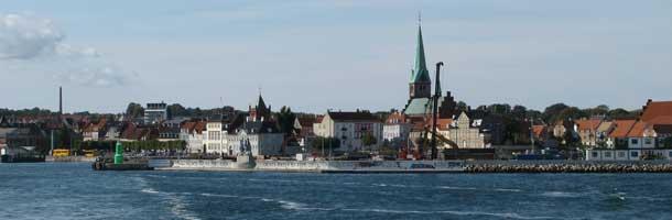 cruise ship Harbour Elsinore / Helsingør Denmark