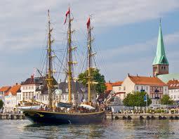 Cruise ship Port Elsinore / Helsingør Denmark