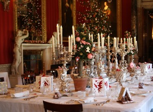 Dining at Hamlets Castle Elsinore Denmark