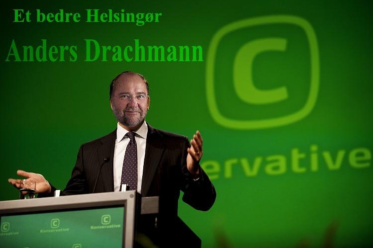 Anders Drachmann er jeg ikke utilbøjelig til at støtte Helsingør