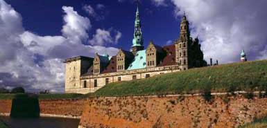 Hamlets Castle Elsinore denmark