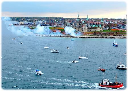 Queen Mary 2  Elsinore / Helsingør Denmark