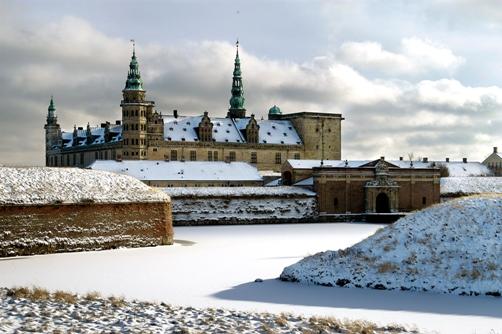 Kronborg Slot Helsingør - Hamlets Castle Elsinore